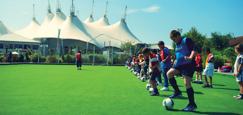Football Coaching at Butlins for 8-12 year olds