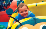Ladybird Fairground Rides Just for Tots at Butlins
