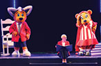 Butlins Storytime with Billy and Bonnie Bear