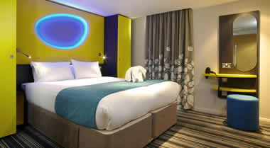 Double Bedroom, Dolphin Room, Wave Hotel, Bognor Regis