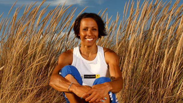 Dame Kelly Holmes at Butlins
