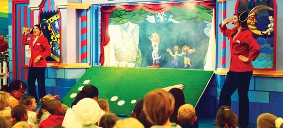 Puppet Castle   Storybook Theatre