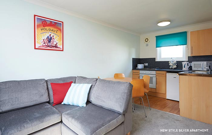 Butlins accommodation - New Style Silver Apartment