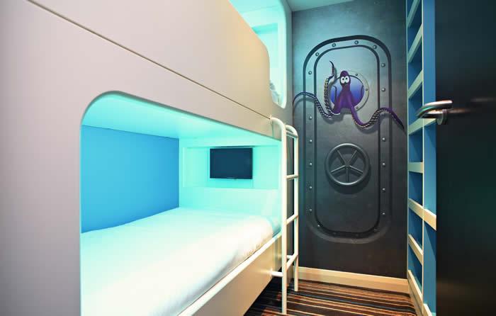 Butlins Wave Hotel Dolphin Room