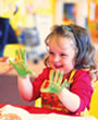 Messy time - under 5s