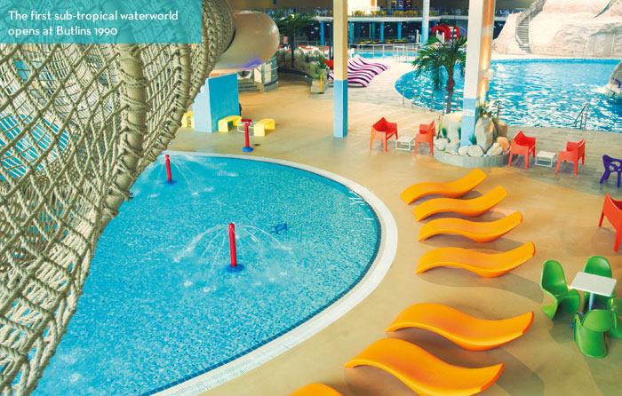 Family magazine history innovation butlins for Bognor regis butlins swimming pool