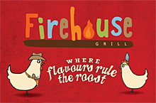 Butlins Minehead Firehouse Grill Restaurant Menu