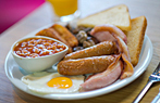 Cooked Breakfast - Butlins Food Court Dining Plan