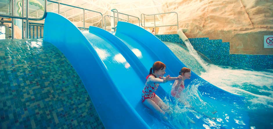 Water activities at Butlins