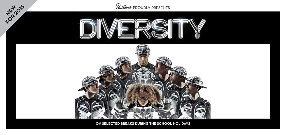 Butlins New 2015 Live Shows - Diversity