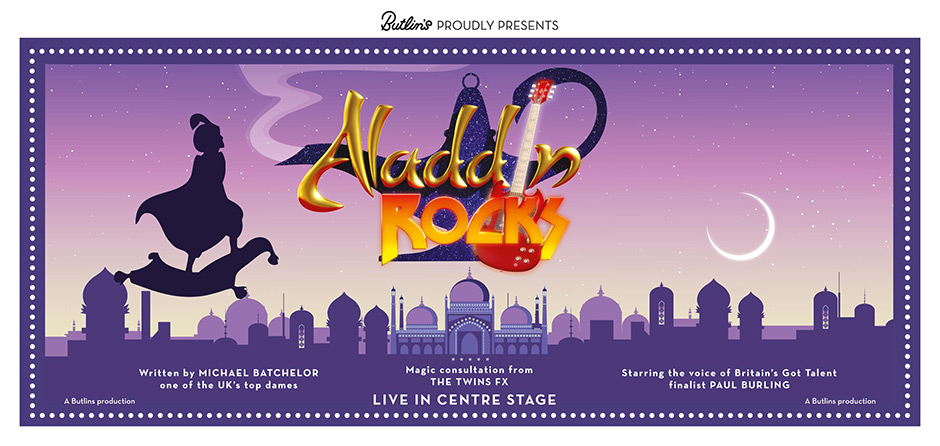 Butlins Summer 2015 Live Shows - Aladdin Rocks