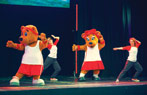 Butlins Wake Up with Billy and Bonnie Bear