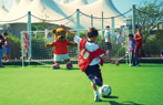 Butlins Beat the Goalie Sports Activity