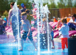 Butlins Skegness outdoor splash zone