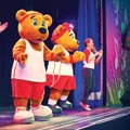Butlins Live Character Shows Billy and Bonnie Bear