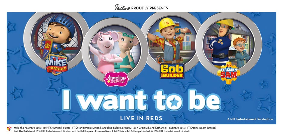 Butlins Live Shows - I Want To Be