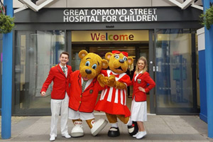 Butlin's Official Charity Partner - GOSH