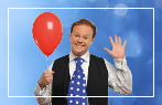 Justin Fletcher at Butlin's Red Balloon