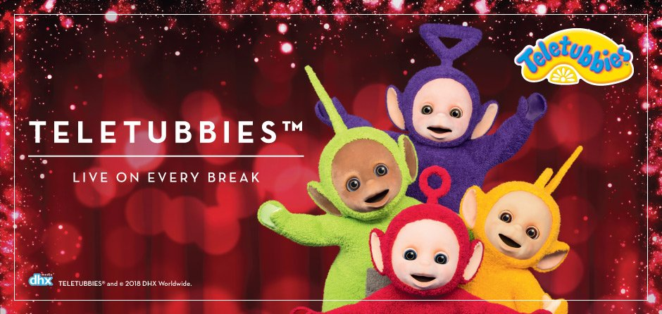 Butlins Easter Entertainment - Teletubbies