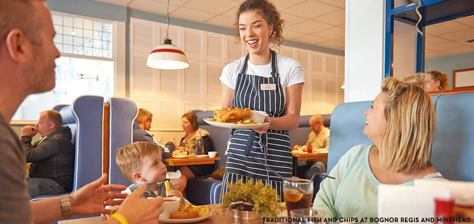 Butlins Restaurants - Traditional Fish & Chips