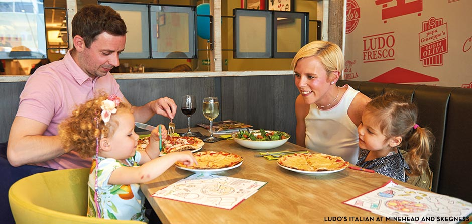Butlins Restaurants - Ludos Italian